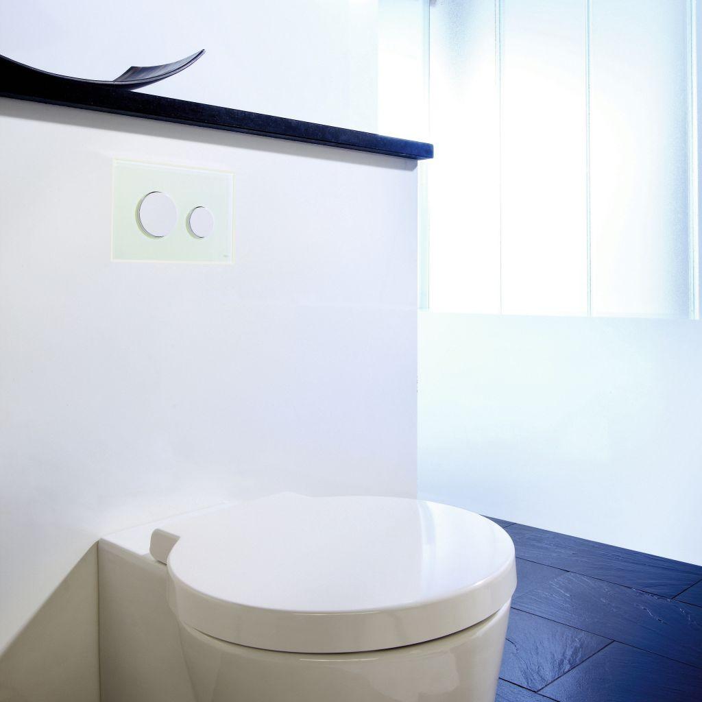 Trend na płaskie powierzchnie w łazience