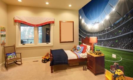 Pokój dla dziecka na sportowo