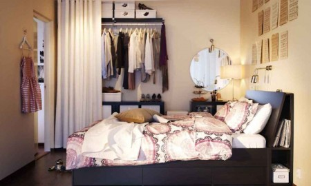 Garderoba na małej przestrzeni?
