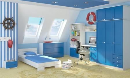 Sypialnia przytulna dla dziecka