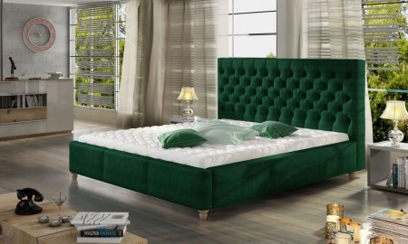Sypialnia w odcieniu butelkowej zieleni? Jak ją zaaranżować?